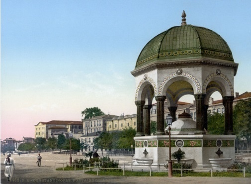 German_Fountain معالم اسطنبول السياحية والتاريخية