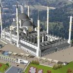 بناء أكبر جامع في تركيا على تلة تشاملجا - تل العرائس في إسطنبول