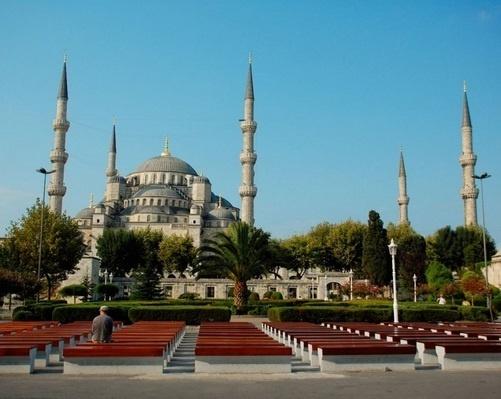 جامع السلطان احمد Sultanahmet Camii